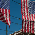 American flag — Stock Photo #6321390