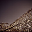 Old Rollercoaster — Stock Photo