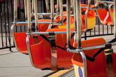 Carousel Seats — Stock Photo