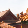 Stock Photo: Palace roofs