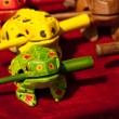 Toy frogs — Stock Photo #6719866