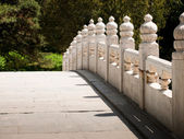 Bridge in Bejings summer palace — Stock Photo