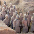 Terracotta Army - Foto de Stock