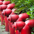 fire hydrants — Stock Photo