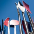Stock Photo: Oars