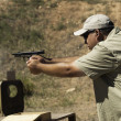 Target Shooting - Stock Photo
