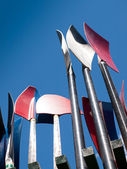Oars — Stock Photo