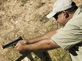 Target Shooting — Stock Photo