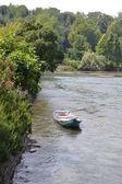 River boat — Stockfoto