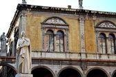 Verona- piazza dei signori — Stock Photo