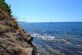 Overlooking the sea — Stock Photo