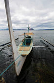 Boat at sea — Stock Photo