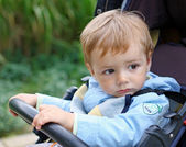 Baby for a walk — Stock Photo