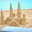 Sand castle — Stock Photo #6498761