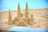 Sand castle — Stock Photo