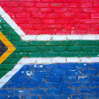 South African flag — Stock Photo #6207962