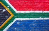 Güney afrika bayrağı — Stok fotoğraf