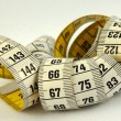 Stock Photo: Measurement tape