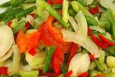 Vegetable background — Stock Photo