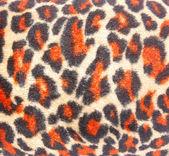 Leopardí kůže tkanina — Stock fotografie