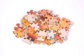 Puzzle pieces — Stock Photo