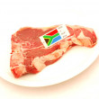 Royalty-Free Stock Photo: South African T-bone steak
