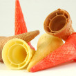 Ice-cream cones — Stock Photo