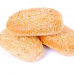 Sesame bread rolls — Stock Photo