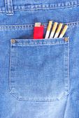 Cigarros no bolso — Foto Stock