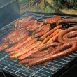 south african braai — Stock Photo