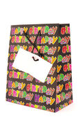 Happy Birthday gift bag — Stock Photo