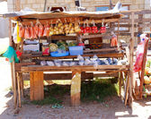 African township shop — Stock Photo