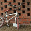 Foto Stock: Old bicycle