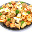 Party platter food - Stock Photo