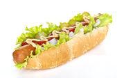Hot dog — Stok fotoğraf