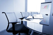 Small meeting room — Stock Photo