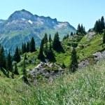 Mountains in Voralberg — Stock Photo
