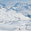Stock Photo: Ski resort in Austrialps