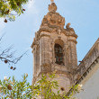 Bell Tower of church in Faro — Stock Photo #6111877