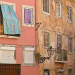 Old houses of Alfama - Stock Photo