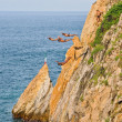 Acapulco cliffs divers — Stock Photo
