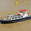 Pilot boat in the panama channel - Stock Photo