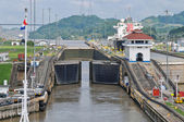 Pedro Miguel Lock of Panama Channel — Stock Photo