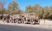 Ore Wagon in Death Valley — Stockfoto