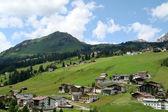 Village Lech in Voralberg — Stock Photo