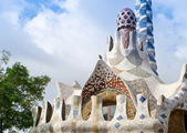 Park Guell - Barcelona — Stock Photo