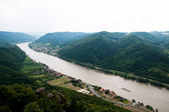 Danube bend — Stock Photo