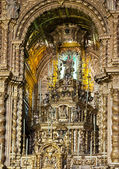 Altar in rhe Cathedral — Stock Photo