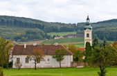 Church in Austrian village — Stock Photo