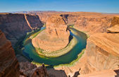 Colorado river horse shoe bend — Stock Photo